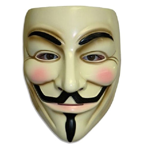 Trendy-Halloween Cosplay MASK V for VENDETTA Costume Fawkes Anonymous mask