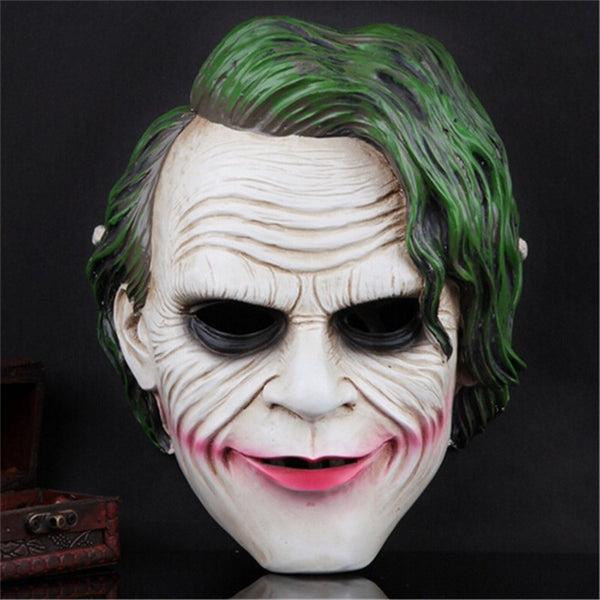 The new resin Full Face scary Halloween masks, Horror ghost party clown mask, Mask Cosplay