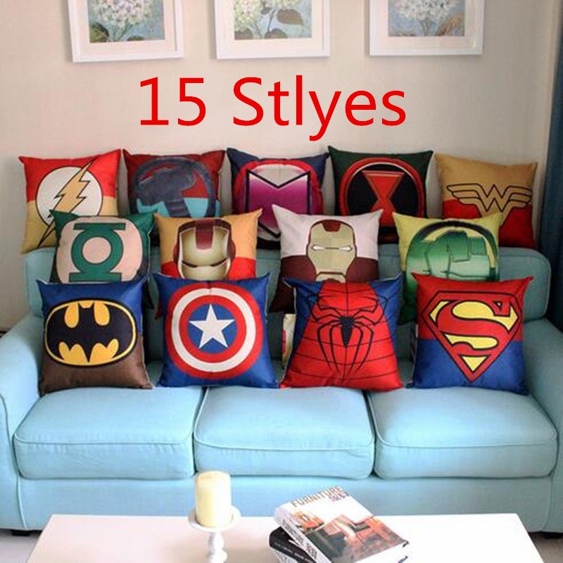 Marvel Dc Super Hero Cushion Cover