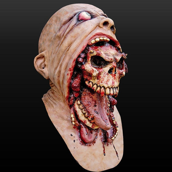 Halloween Cosplay  Mask Bloody Zombie  Horse Head Mask Horror Mask Ghost Mask Melting Face Latex Costume Walking Dead Halloween