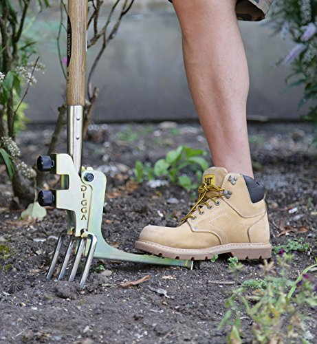 Kikka Digga Garden Fork & Spade Easy Digging Attachment