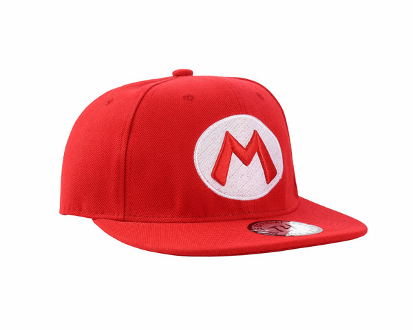 Super Mario Red Snapback Baseball Cap