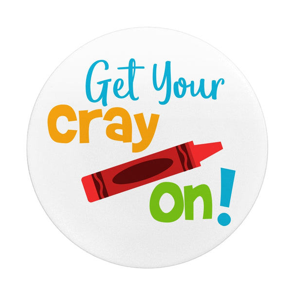Teacher Get Your Cray On! Grip And Stand for Phones
