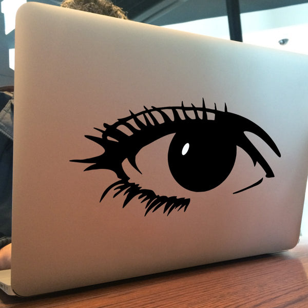 Elegant Eye Vinyl Sticker For MacBook Ipad