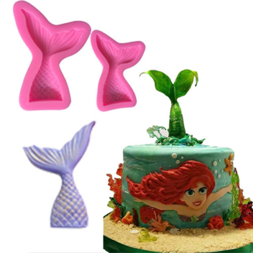 Large Mermaid Sea Magical Tail Silicone Mould