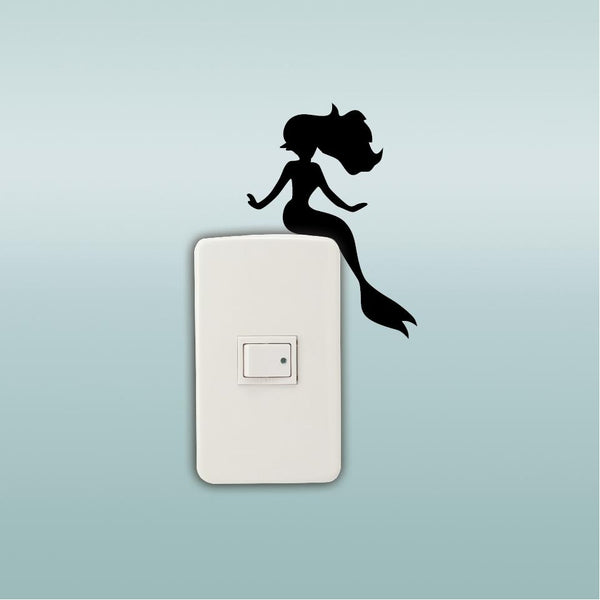 Little Mermaid Light Switch Sticker Vinyl