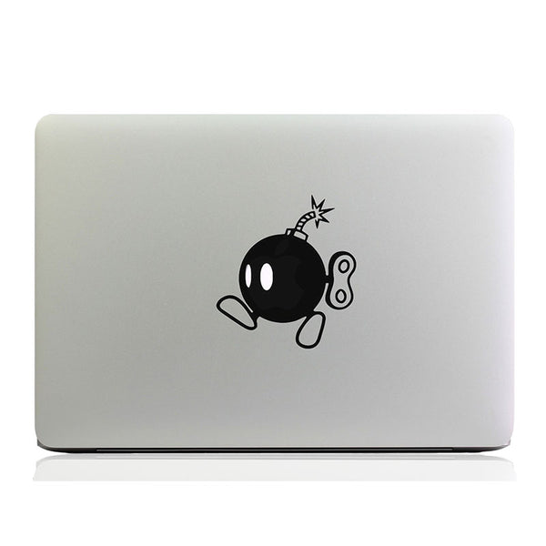 Super Mario Bomb MacBook Vinyl Sticker Laptop Decal