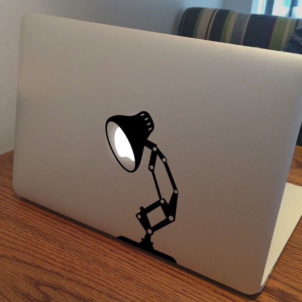 Pixar Disney Lamp Vinyl Sticker For MacBook Ipad