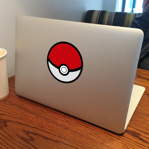 Pokeball Pokemon Vinyl Sticker For MacBook Ipad