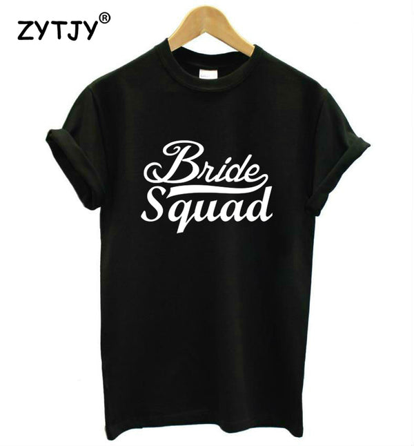Bride Squad Womens T Shirt