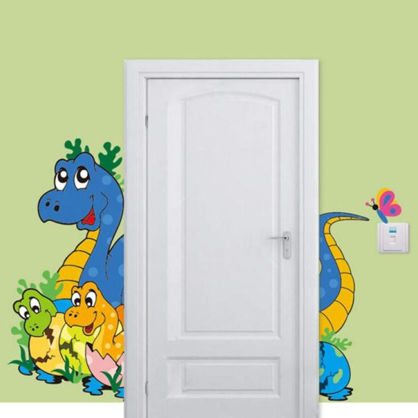 Hot Sale 3d wall stickers  Cute Dinosaur Kids Room Wall Stickers Home decor  Mural for kids room decorations XT