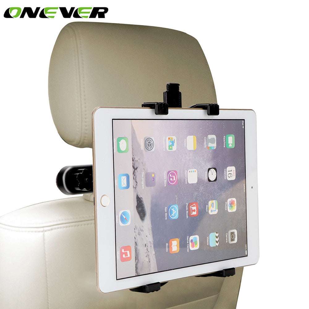 Onever Universal Car Tablet PC Holder Stand Back Seat Tablet Headrest Mount Stand Bracket for iPad 2 3 4 Air 5 Air 6 iPad mini