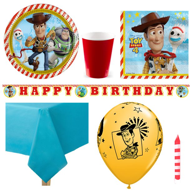 Toy Story 4 Party Package For 8, 16, 24, 32 Guests