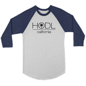 California HODL Raglan Shirt
