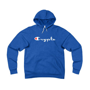 Crypto Champion Fleece Pullover Hoodie