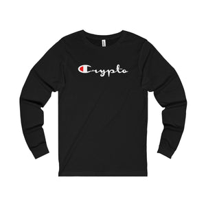 Crypto Champion Long Sleeve T-Shirt
