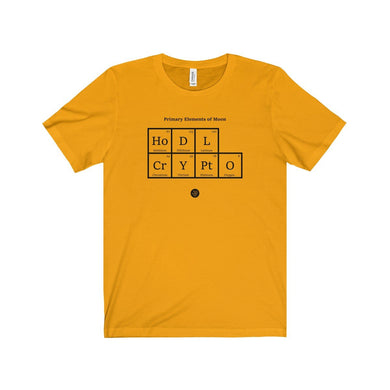 Crypto Periodic Table T-Shirt