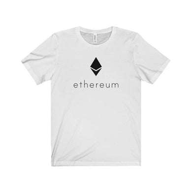 Ethereum Logo with Text T-Shirt
