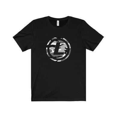 Litecoin Winter Camo T-Shirt