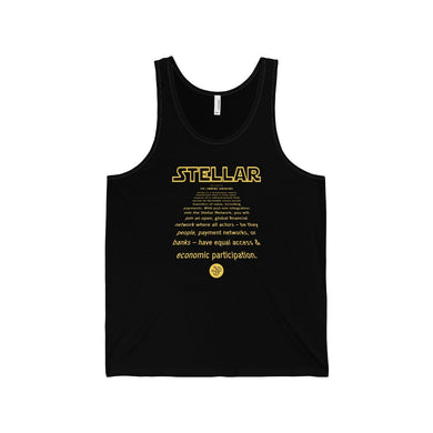 Stellar Lumens Awakens Tank Top