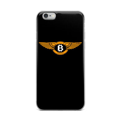 Street Dreams Bitcoin iPhone Case