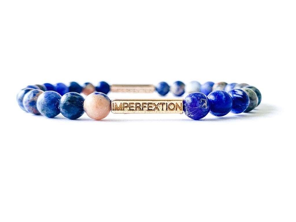 TIME HONORED (2019 SUMMER SEASON) SUNSET SODALITE IMPERFEXTION BRACELET