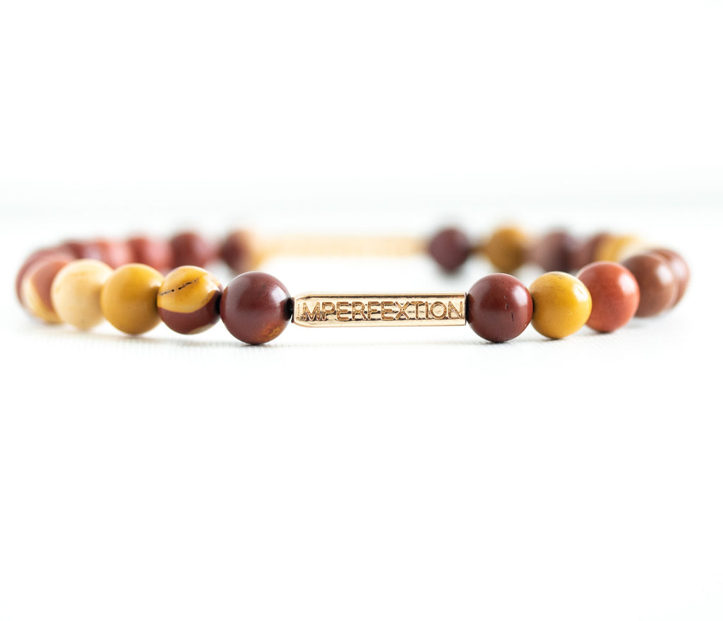 TIME-HONORED(2018 FALL SEASON) MOOKAITE JASPER IMPERFEXTION BRACELET