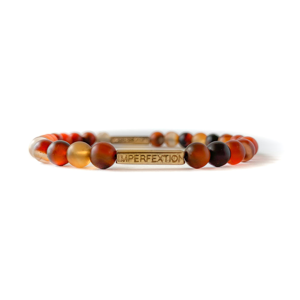 TIME HONORED (2019 FALL SEASON) DREAM AGATE IMPERFEXTION BRACELET