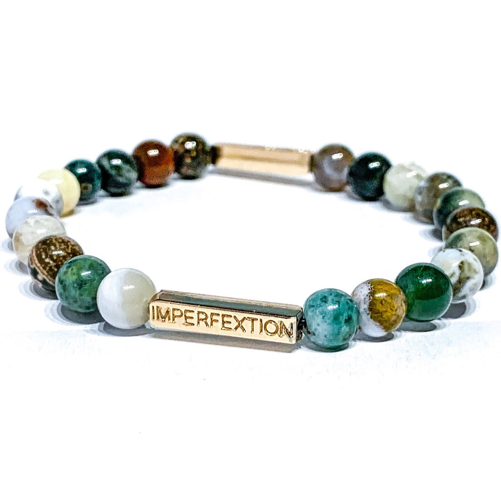 (2020 WINTER SEASON) OCEAN JASPER IMPERFEXTION BRACELET