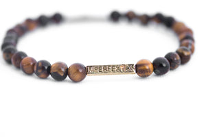 GLOSS TIGER'S EYE IMPERFEXTION BRACELET