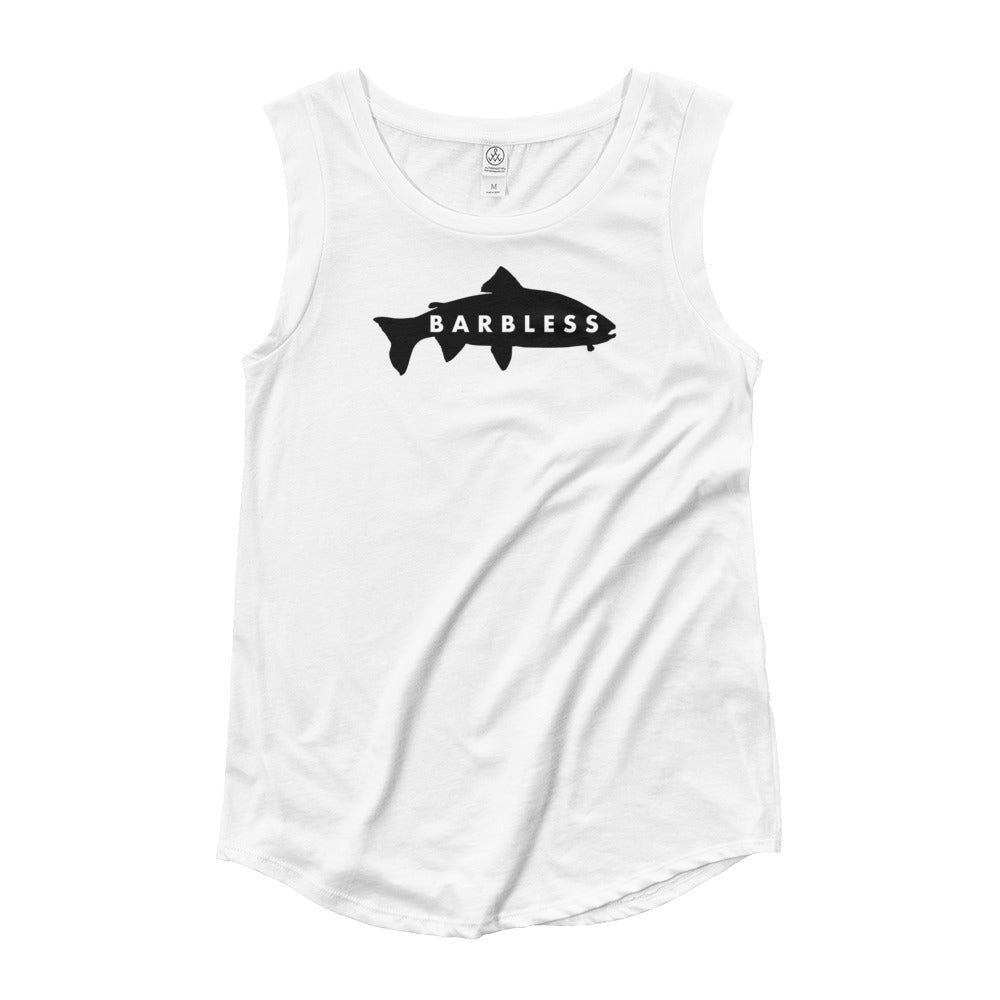 Ladies' Barbless Cap Sleeve T-Shirt