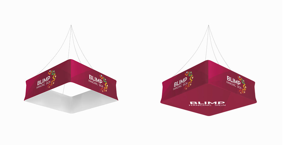 WaveLine® Blimp:  Events Ceiling Hanging Sign for Trade Shows