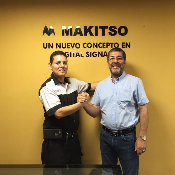 Makitso opens new digital signage outlet in South America