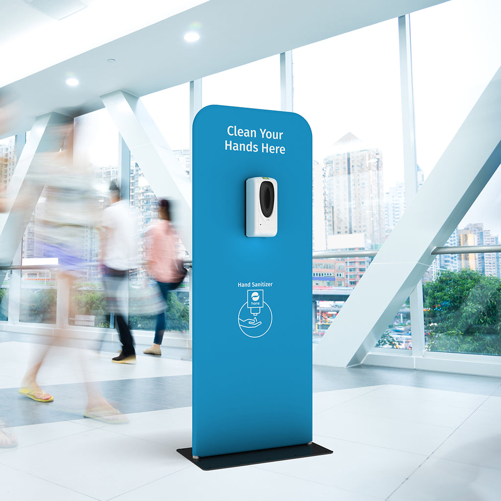 Hanz™ Sanitizer Dispensers & Signage