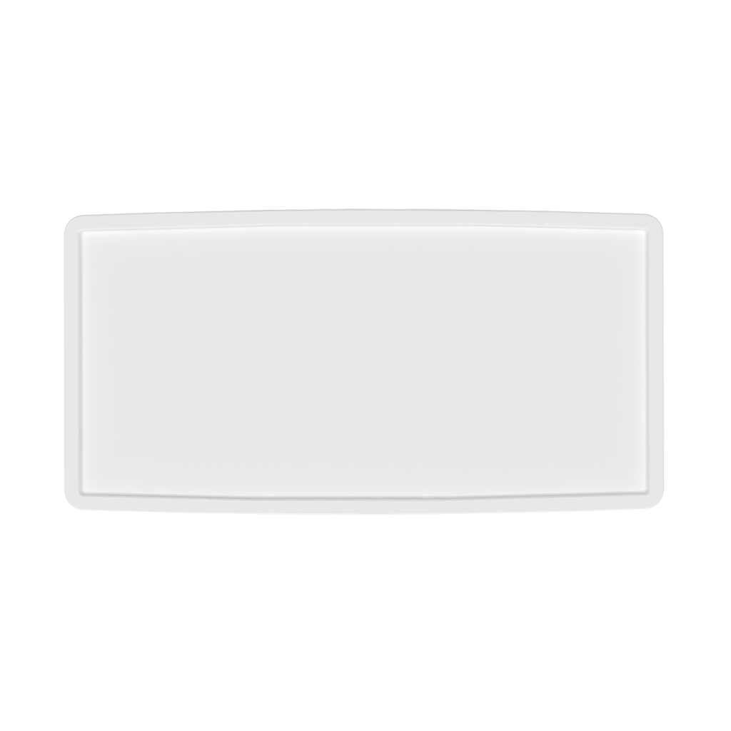 CA700 Counter Case White counter top