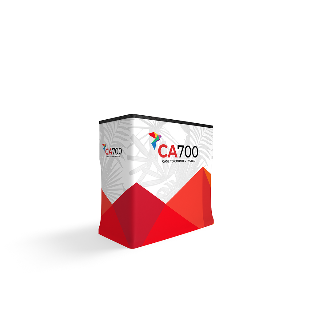 CA700 Counter Case with vibrant dye sublimation graphic print.