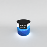 WaveLight LED Backlit Inflatable Counter Circular