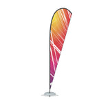 WaveLine 14' Feather Flag outdoor advertising and event flags