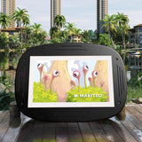 Makitso 4k Interactive Children's Touch Screen Monitor Table Black outdoor