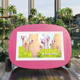 Makitso 4k Interactive Children's Touch Screen Monitor Table Pink Outdoor
