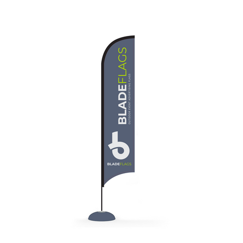 WaveLine 14' Blade outdoor advertising and event flags