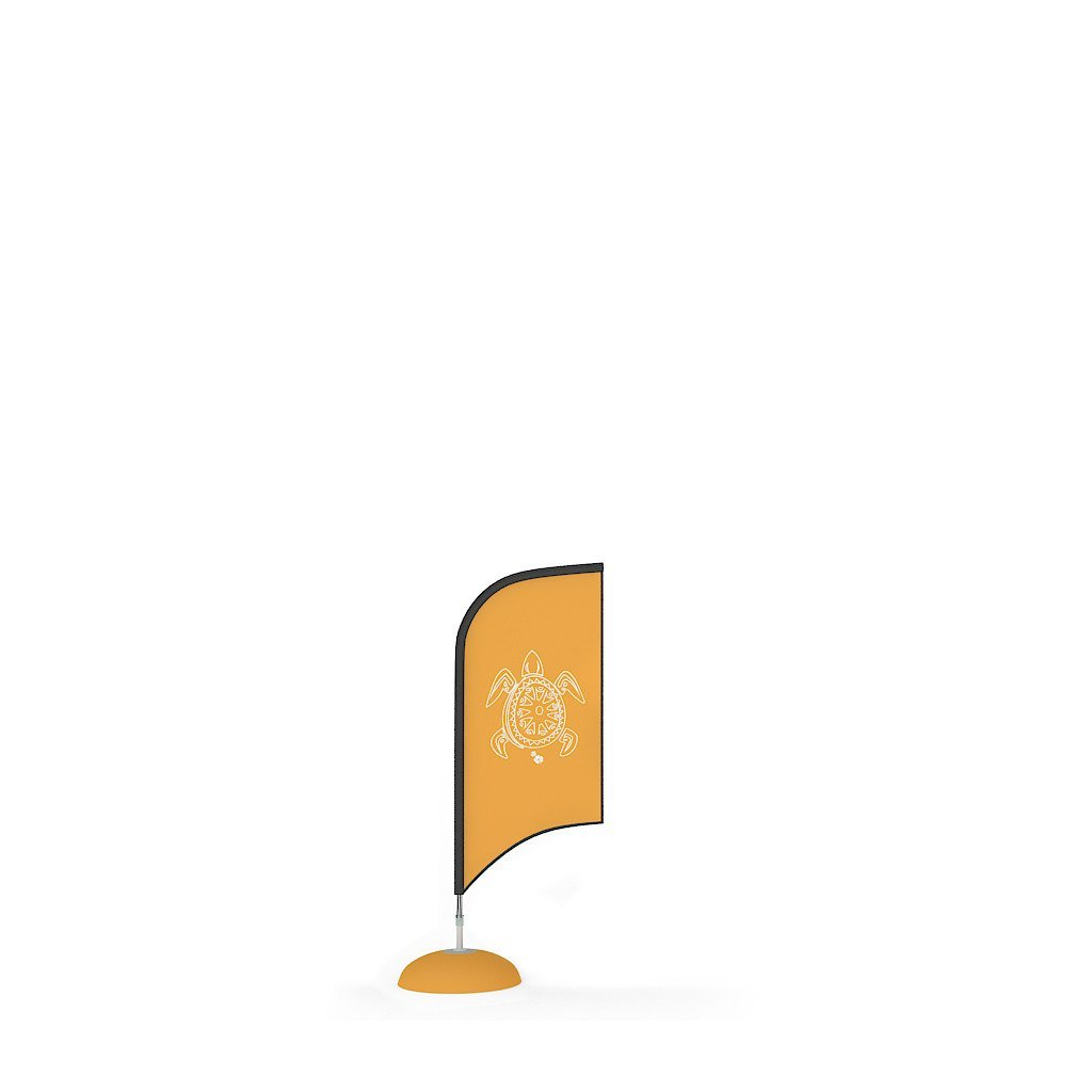 Waveline Blade Flag Small - Promo Advertising Feather Flag