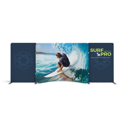 BrandStand WavelineMedia WLME10CE Tension Fabric Display