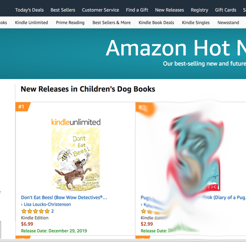 Amazon Hot New Release, DON'T EAT BEES!