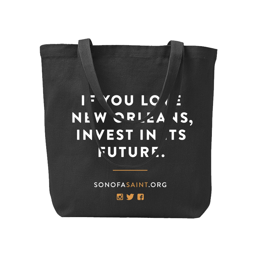 Son of a Saint Tote Bag