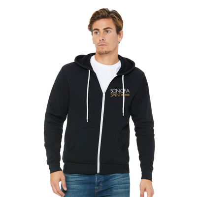 Son of a Saint Zip-Up Hoodie