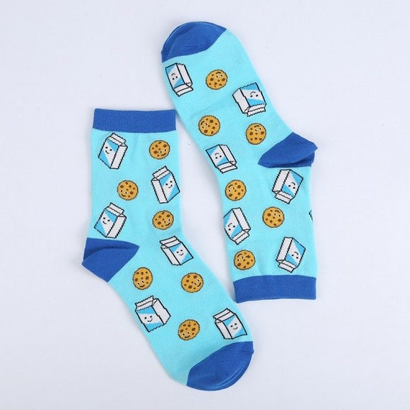 Milk & Cookies Socks - sock Vendor