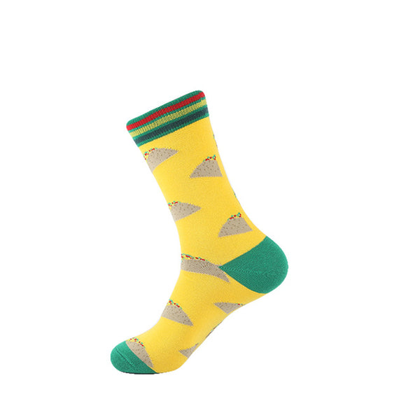 Yellow Taco Socks - sock Vendor