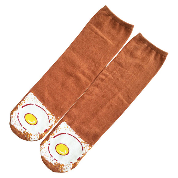 Egg on Toast Socks - sock Vendor