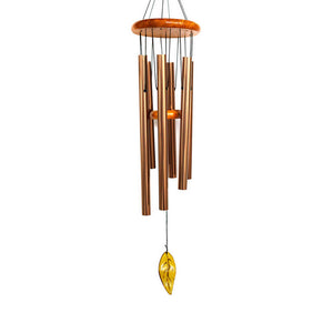 Beautiful Outdoor Wood and Metal Alloy Wind Chime